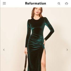 Reformation ruby dress